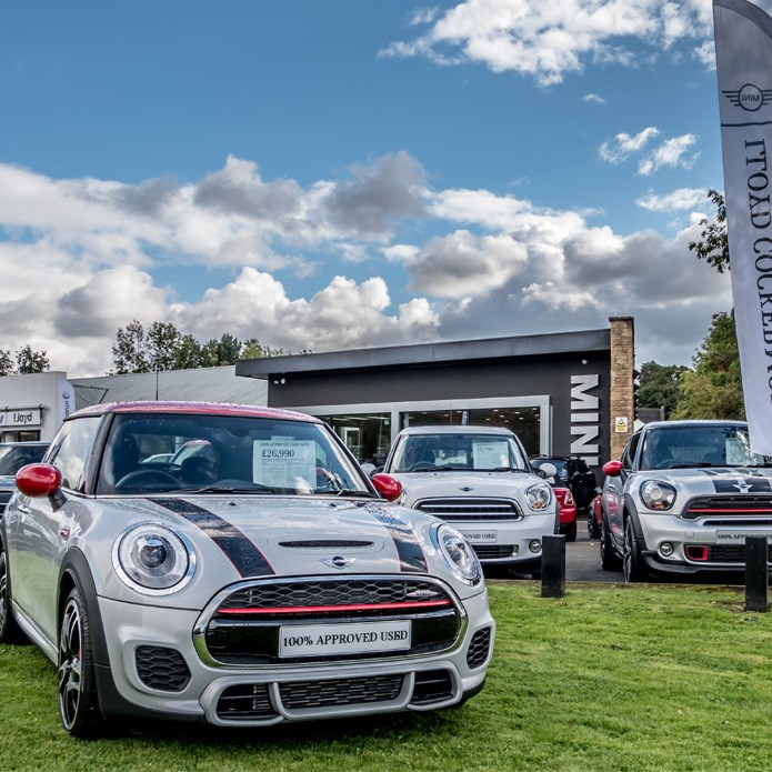 Used Car Loan Finance On Existing Car At Low Rate Of: Lloyd Cockermouth MINI • MINI Dealership In Cumbria